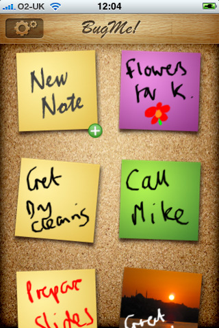 BugMe Ink Notes and Reminders