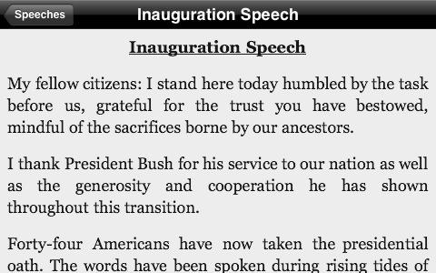 99 Obama Speeches