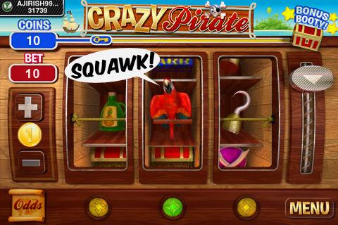 Crazy Pirate Slots