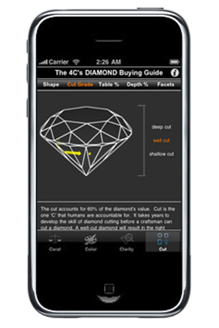 The 4 C's Interactive DIAMOND Buying Guide