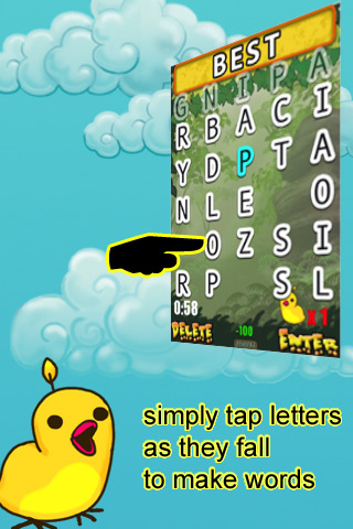 Word Droppings