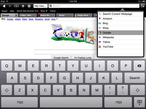Atomic Web Browser