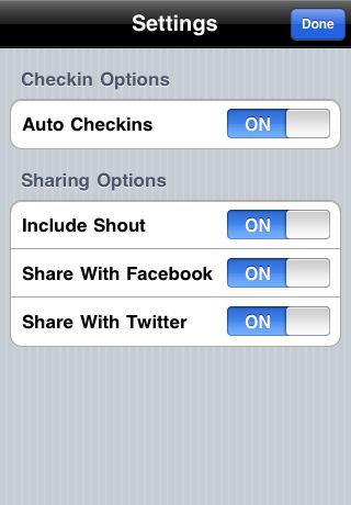 Checkmate for Foursquare