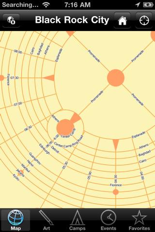 iBurn 2010 Buring Man Map & Guide