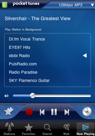 Pocket Tunes Radio