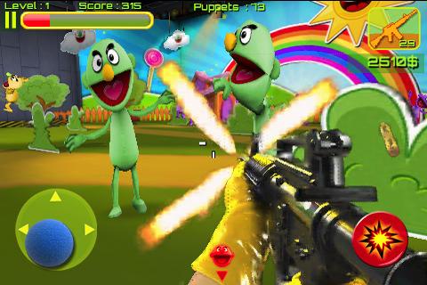 Puppet War FPS