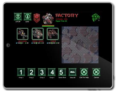 Starcraft 2 Gameboard