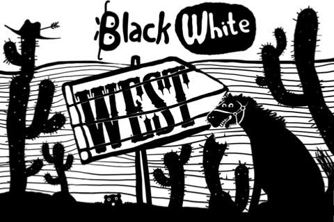 Black White West