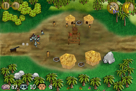 Tower Assault! Curse of Zombie Island
