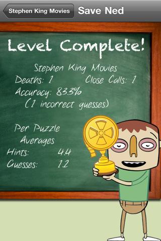 Save Ned: Movie Trivia