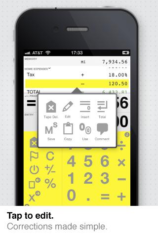 Digits Calculator for iPad + iPhone