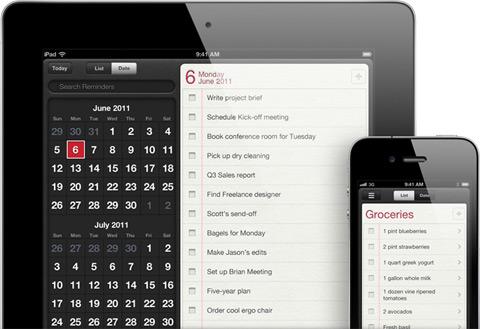 Reminders app in iOS 5