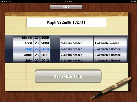 iJuror for iPad
