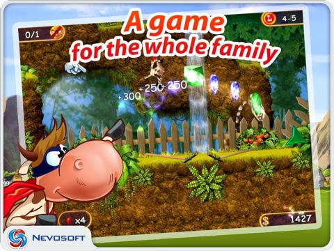 Supercow: funny farm arcade platformer HD