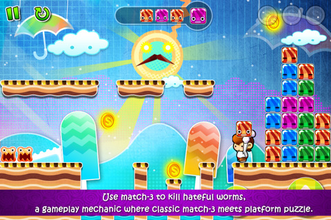 Candy Boy game for iPhone