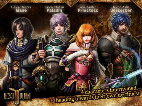 Exitium: Saviors of Vardonia (iPad review)