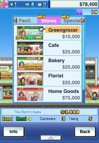 Mega Mall Story iPhone app review
