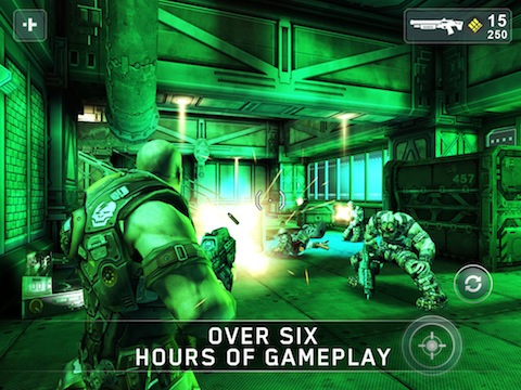 SHADOWGUN iPhoe game review