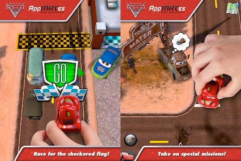 Cars 2 AppMATes iPad app review