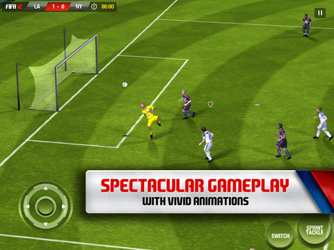 FIFA SOCCER 12 by EA SPORTS for iPad
