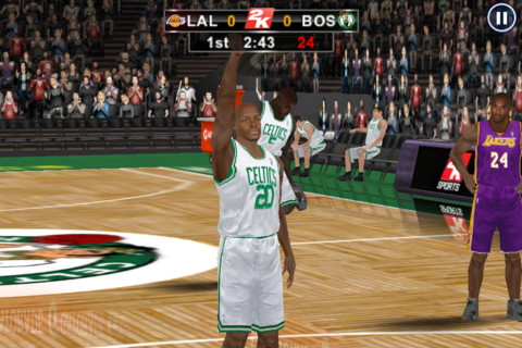 NBA 2K12 for iPhone review