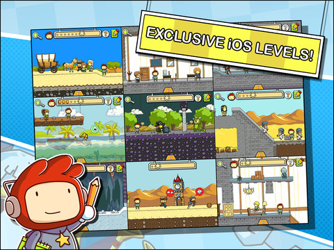 Scribblenauts Remix game for iPhone and iPad
