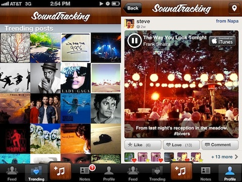 SoundTracking iPhone app review