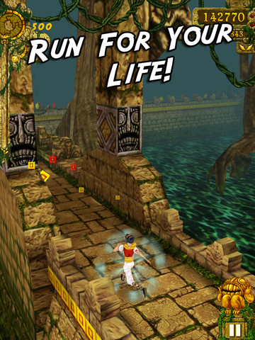 Temple Run iOS game review