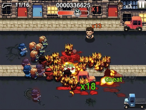 Age of Zombies Anniversary iPhone app review