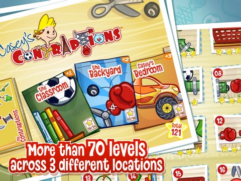 Casey's Contraptions HD App for iPad
