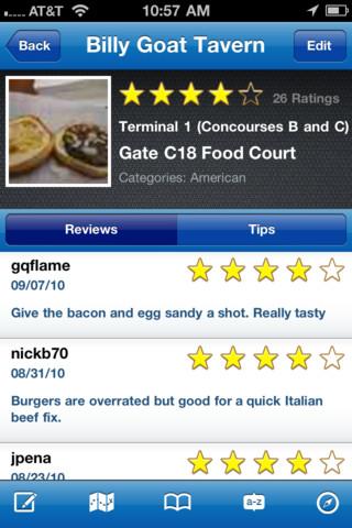 GateGuru - featuring Airport Maps iPhone app review