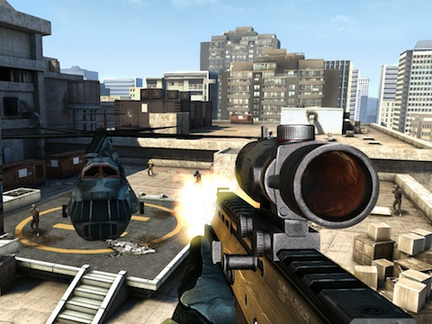 Modern Combat 3: Fallen Nation iPhone and iPad app review