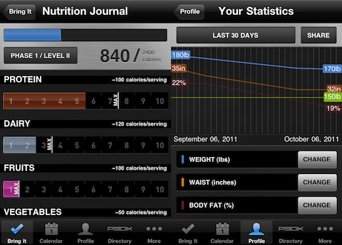 P90X iPhone app review