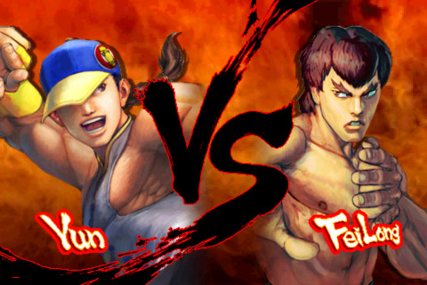 STREET FIGHTER IV VOLT iPhone app review