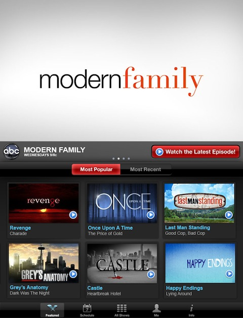 ABC Player iPad app