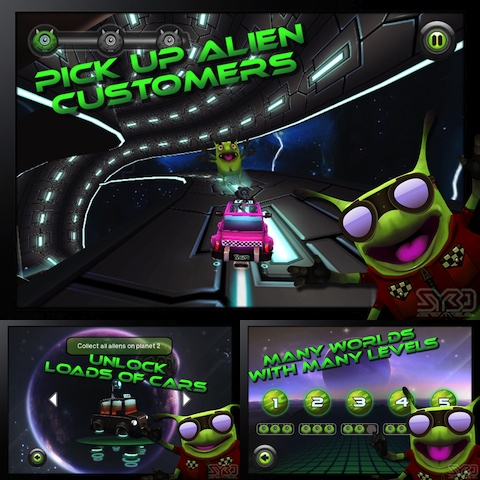 Cosmic Cab iPhone game review