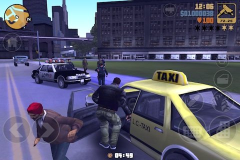Grand Theft Auto 3 iPad app review