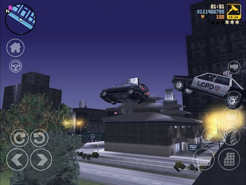 Grand Theft Auto 3 iPhone app review