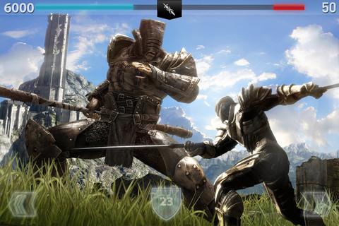 Infinity Blade II iOS game review