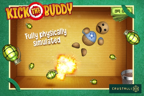 Kick the Buddy iPhone game review