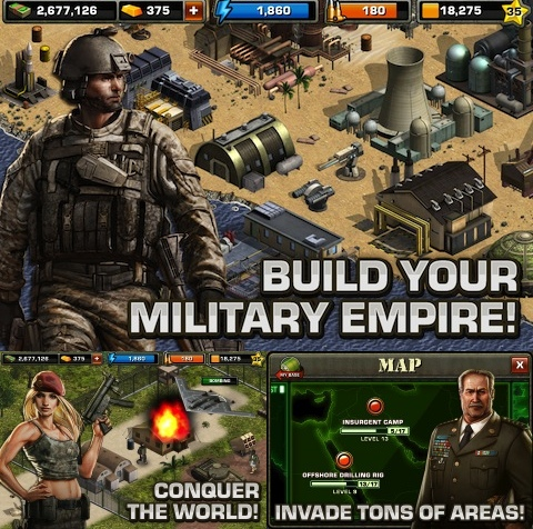 Modern War iPhone app review