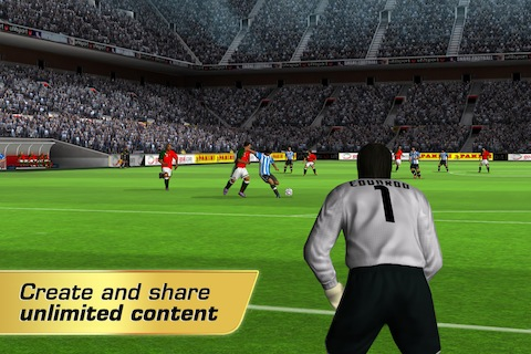 Real Soccer 2012 iOS game review