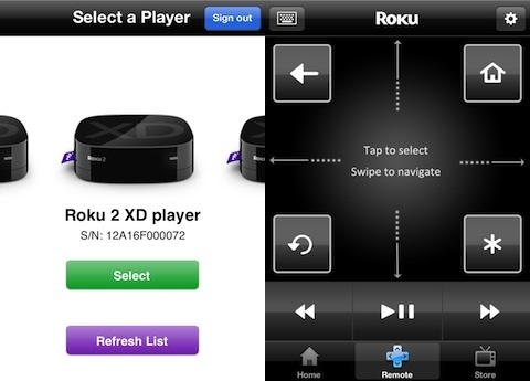 Roku iPhone app review