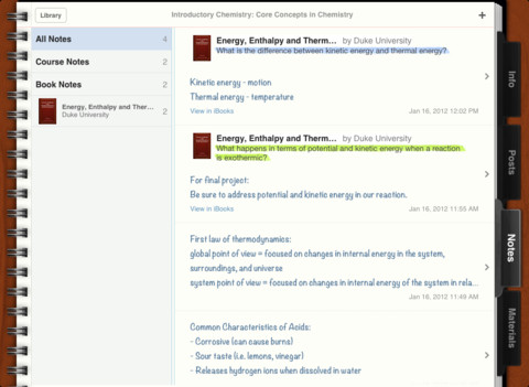 iTunes U app on the iPad reviewed