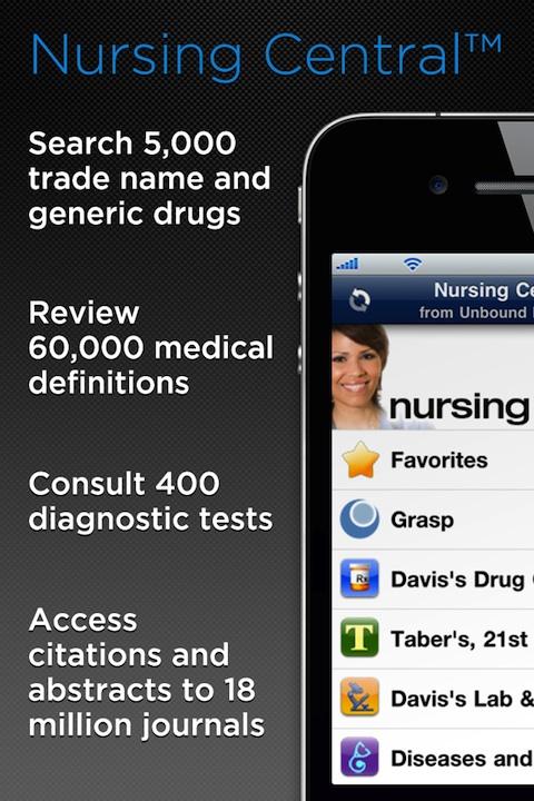 Nursing Central iPhone app review