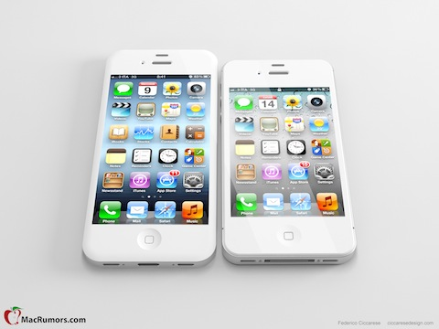 iPhone 5 Tall Boy Design Concept