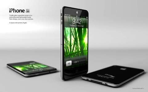 iPhone 5 concept by Antonio De Rosa - iPhone SJ
