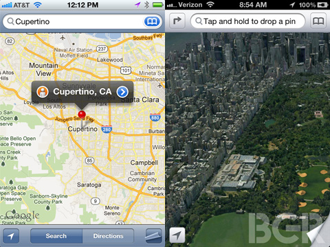 iPhone 5 Maps app revamped with 3D features